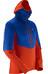 Salomon M's Drifter Air Mid Hoodie Vivid Orange/Blue Yonder